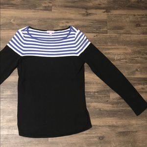 Lilly Pulitzer Cute and Nautical Black Long Sleeve